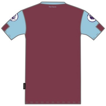 Burnley Football Club INFANT HOME KIT 1920